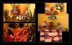 Mesas decoradas Buffet Status