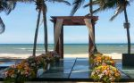Tablado de Vidro casamentos praia