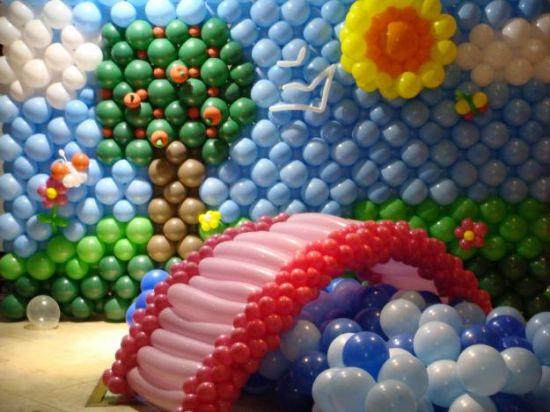 Aluguel Locação Balões Bexigas Eventos Festas