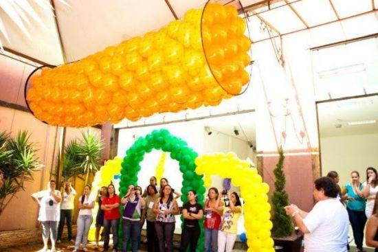 Aluguel Locação Balões Bexigas Eventos Festas Empresas