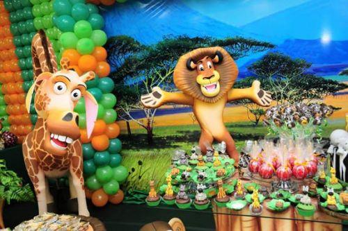 Aniversário Tema Madagascar
