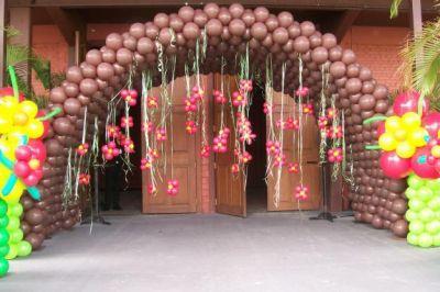 Aluguel Locação Decoração Bexigas Balões