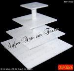 __ Torre para CupCake __ COD. 01540 Q __ R$ 79,90 ou 05 X R$ 15,98 * Desmont�vel
