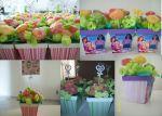 vasinhos mdf personalizados e florzinhas de gomas