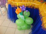 vasos com balões