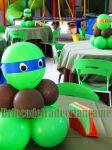 Centro de mesa tartarugas ninjas