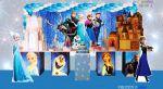 Mesa temática da frozen no provençal em (cubos)