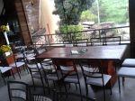 Mesa banquete madeira rústica(opção para mesa dos pais)