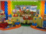 circo mesa de vidro