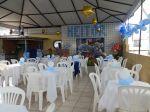 buffet aquario smurfs