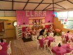salão de festas buffet aquario minie rosa