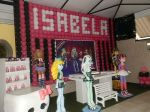 festa monster high Isabela