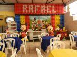 tela em balões Mickey