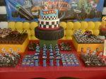 bolo  festa blaze monster machine