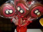 pirulito de chocolate festa blaze monster machine
