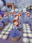cupcake princesinha sofia