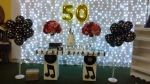 festa 50 anos Valeria tema anos 60