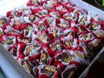 Camafêus nozes decorado