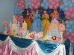 Mesa das princesas