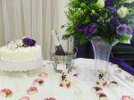 Detalhe mesa do bolo