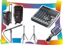 ALUGUE - Kit Sonorização 04