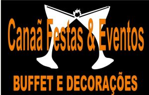 Cana� festas & eventos ,Buffet � domicilio, decora��es e loca��es !Realizando sonhos