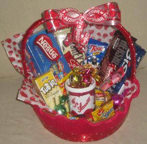 cesta de chocolate te amo