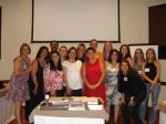 Curso de Assessoria e Cerimonial dia 21.02.10 no Hotel Golden Tower de SP