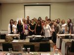 Curso de Assessoria e Cerimonial dia 28.11.10 no Hotel Golden Tower de SP
