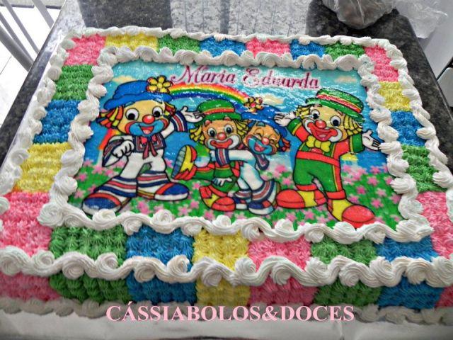 Bolos Decorados Infantil By Carolina Prada