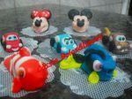 Docinhos modelados Minie e Mickey  Docinhos modelados Carros  Docinhos modelados Nemo