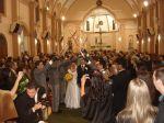 Casamento Militar - Cruzamento de espadas - Igreja S�o Jos�