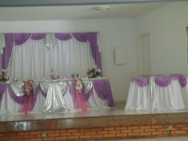 decoracao branco rosa e lilas:Decoração [Lilás com branco e rosa]