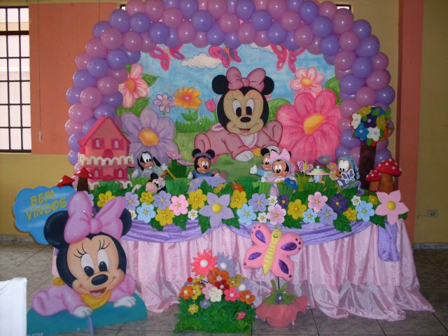 Festa da Moranguinho - Decoração de festa infantil da
