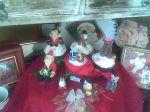 Mini panetones e modelagens natalinas