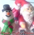 Papai Noel e gelinho