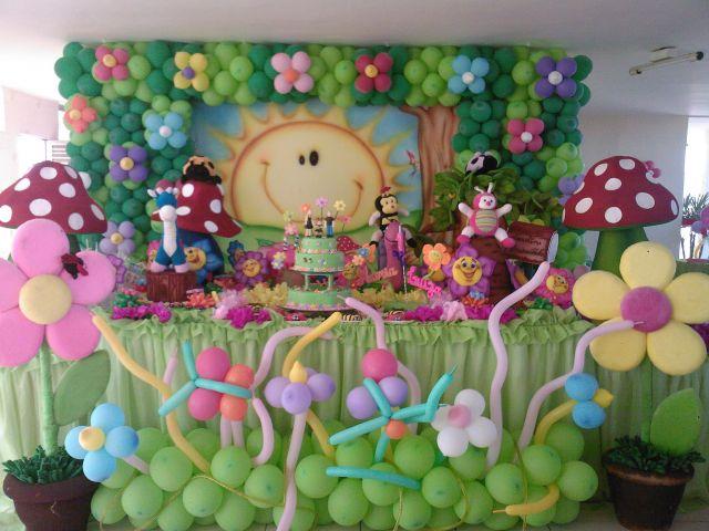 mesa de guloseimas jardim encantado provencalJardim Encantado