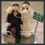 cód:N189 noivo dono de loja de produtos  naturais, e a noiva dona de empresa de pavimentação...