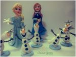 Topo de Bolo Frozen - cód: 3141