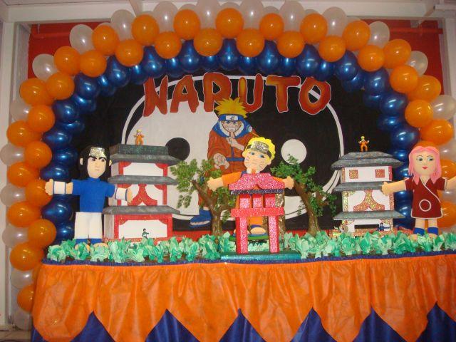 decoracao festa naruto:DECORAÇÃO NARUTO – CRIARTE FESTAS INFANTIS