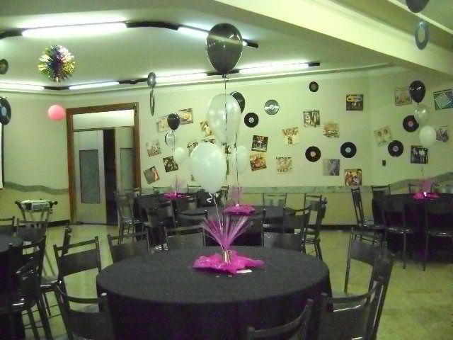 Discoteca Day Festas e Eventos -> Decorar Com Discos De Vinil