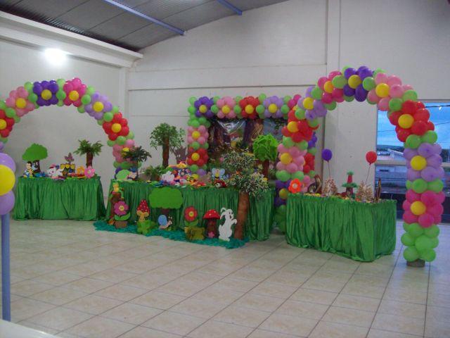 decoracao de balões jardim encantadoJardim encantado