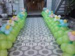 Caminho de balões