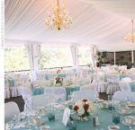 Sujestão de decoração p/ mesas dos convidados em ton azul. Doc.1-AE