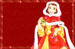 a bela e a fera painel festa infantil banner (9)