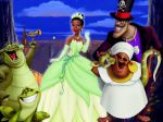 a princesa e o sapo painel festa infantil banner (12)
