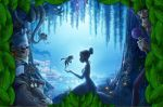 a princesa e o sapo painel festa infantil banner (9)