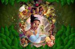 a princesa e o sapo painel festa infantil banner (5)