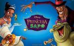 a princesa e o sapo painel festa infantil banner (2)