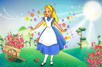 alice no país das maravilhas painel festa infantil banner (5)